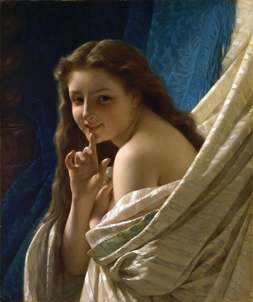 Portrait of a Young Woman, 1869 - Pierre-Auguste Cot