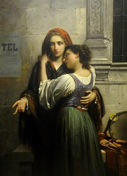 The Beggar Girls(Charity for My Sister) - Pierre-Auguste Cot