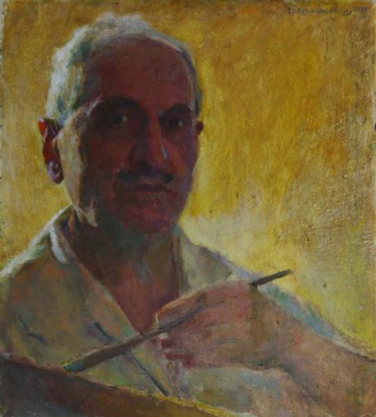 Self Portrait, 1933 - Yeghishe Tadevosyan