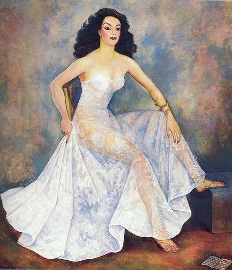 La Dona Maria Felix, 1949 - Diego Rivera