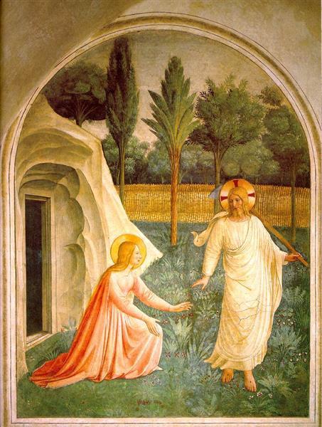 Noli Me Tangere, 1440 - 1442 - Fra Angelico