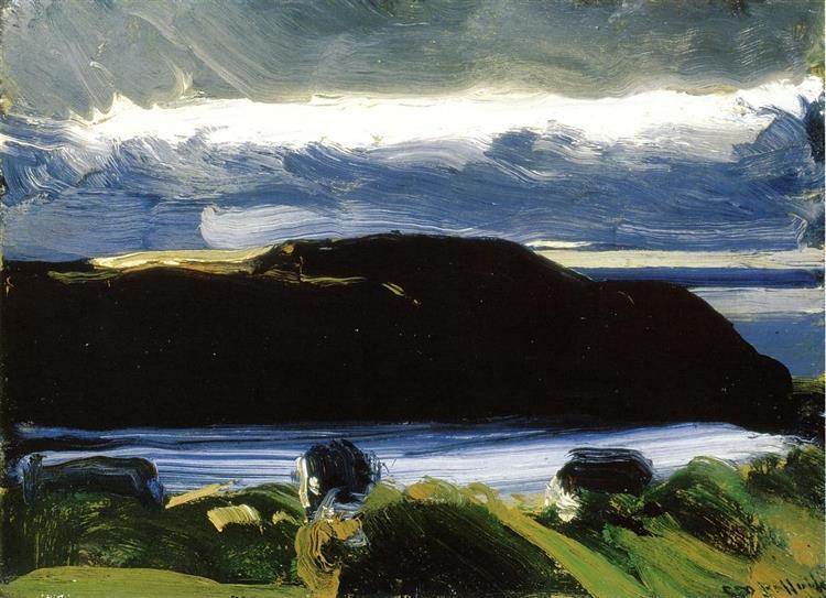 Breaking Sky, Monhegan, c.1916 - George Bellows