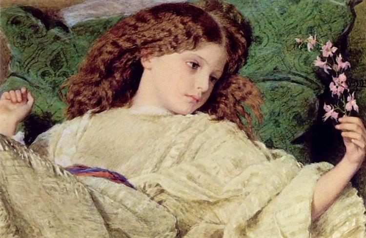 Dreams, 1863 - Frederick William Burton
