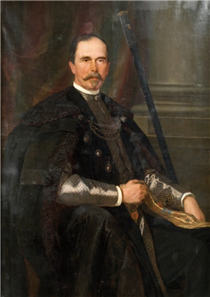 Portret Jana Dzierżysława Tarnowskiego - Henryk Rodakowski