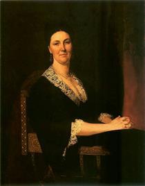 Portret Alfonsyny Z Miączyńskich Dzieduszyckiej - Henryk Rodakowski