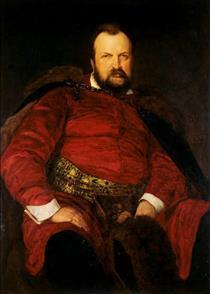 Portrait of Włodzimierz Dzieduszycki - Henryk Rodakowski