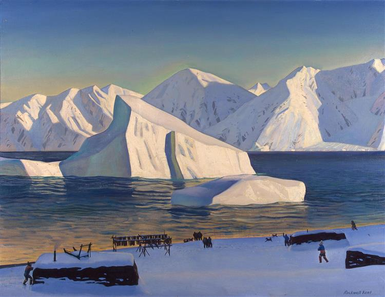 Early November, North Greenland, 1933 - Rockwell Kent