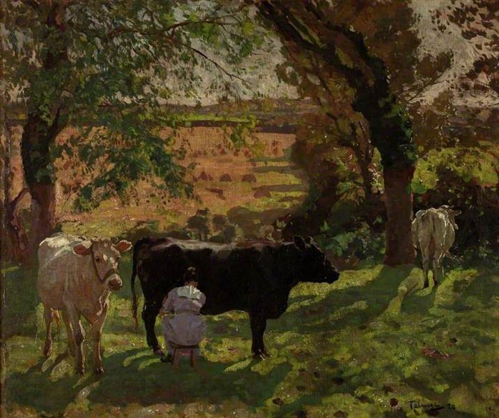 Freshness of Morning, 1920 - Algernon Talmage