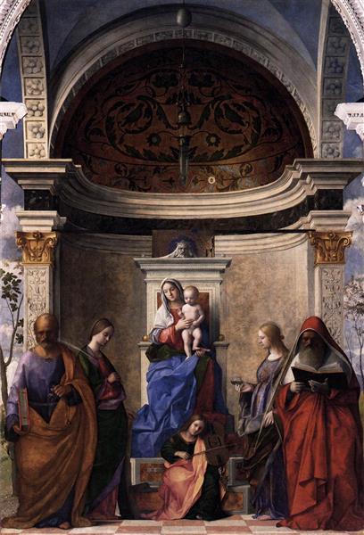 San Zaccaria Altarpiece, 1505 - Giovanni Bellini