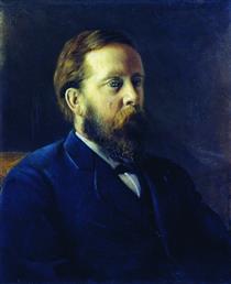 Portrait of the A.V. Vysheslavtsev - Алексей Иванович Корзухин