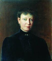 Portrait of a Woman - Алексей Иванович Корзухин