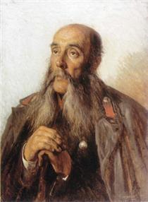 Portrait of the Retired Soldier - Алексей Иванович Корзухин