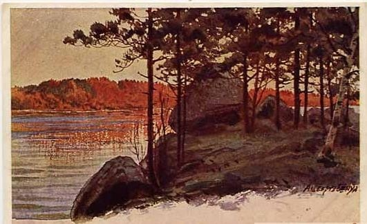Corner of Finland - Albert Benois