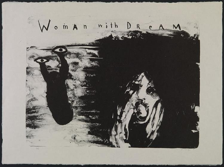 Woman with Dream, 2007 - David Lynch