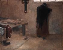 In the Morgue - Jakub Schikaneder