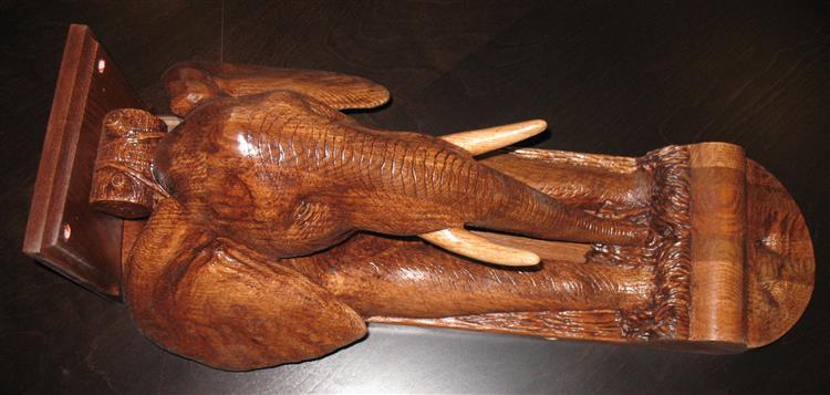 Elephant Corbel (Number 1), 2017 - Lex Blaakman