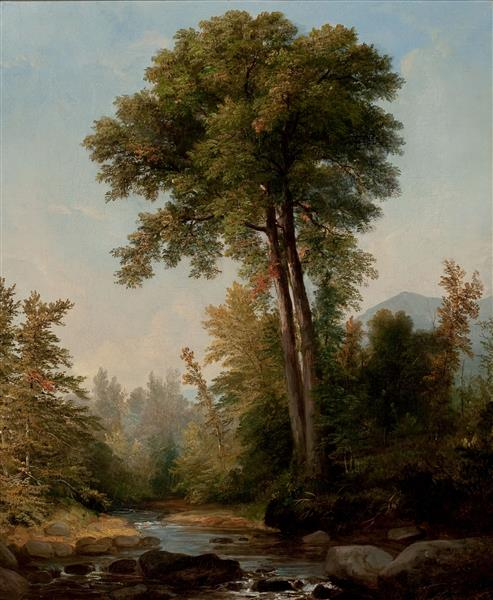 A Natural Monarch - Asher Brown Durand