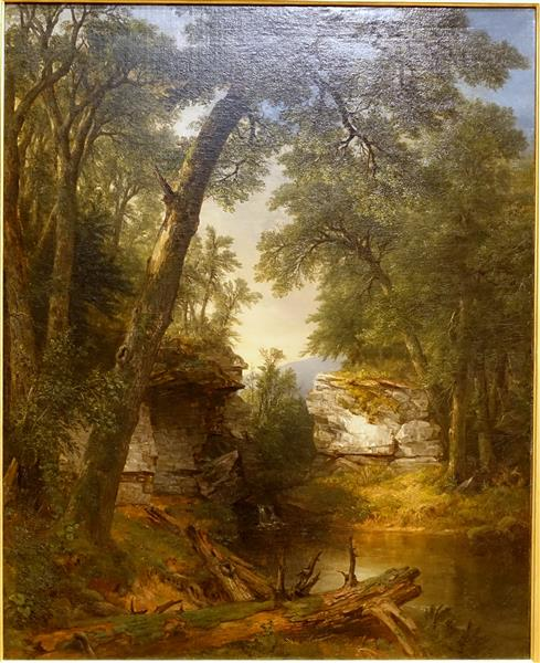 A Reminiscence of the Catskill Clove - Asher Brown Durand
