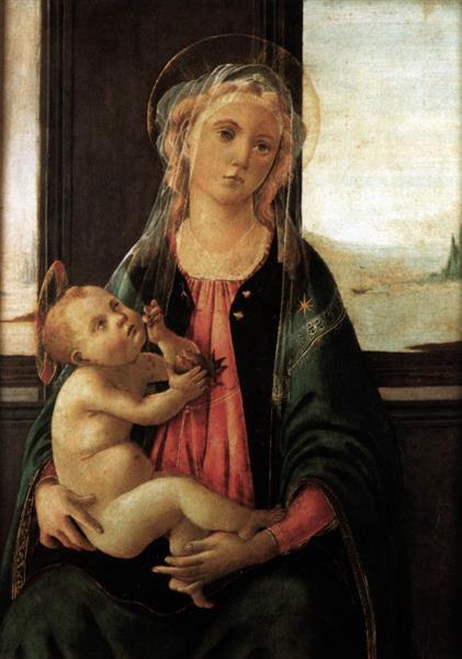 Madonna del Mare, 1477 - Sandro Botticelli