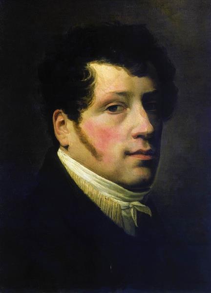Self Portrait, 1817 - Sylvester Shchedrin