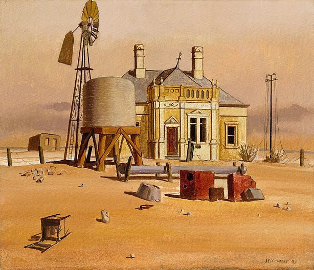 The wasteland II, 1945 - Jeffrey Smart