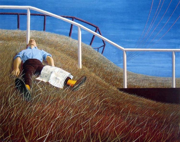 Cooper Park II, 1962 - Jeffrey Smart