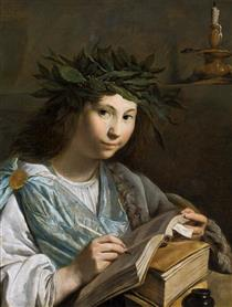 Clio - Muse of History - Johan Moreelse