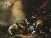 The Conversion of Saint Paul - Bartolomé Esteban Murillo