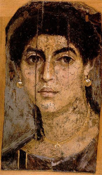 Fayum Mummy Portrait, 70 - Fayum portrait