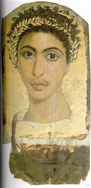 Gayet's Mummy Portraits from Antinoopolis - Fayum portrait