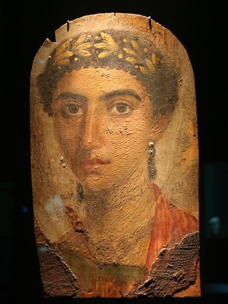 Mummy Portrait of Eirene, c.50 - Fayum portrait