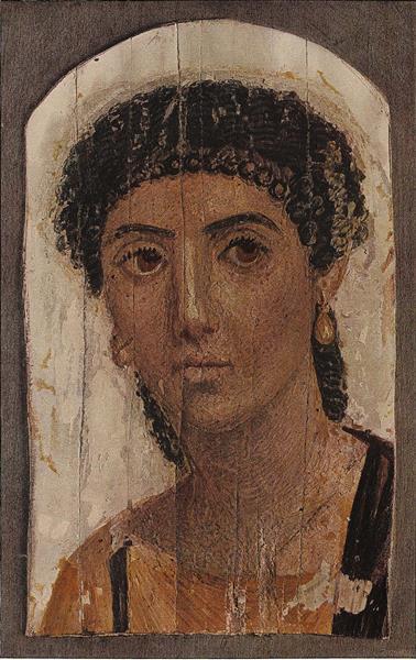 Fayum mummy portrait - Retratos de Faium