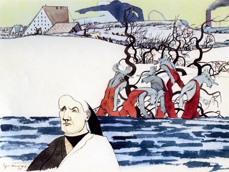 Study for Moos-O-Men - Ivan Eyre