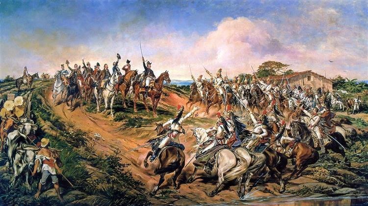Independência ou Morte! (O Grito do Ipiranga), 1888 - Pedro Américo