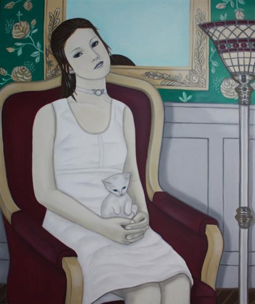 Das Kätzchen, 2018 - Eva Janina Wieczorek