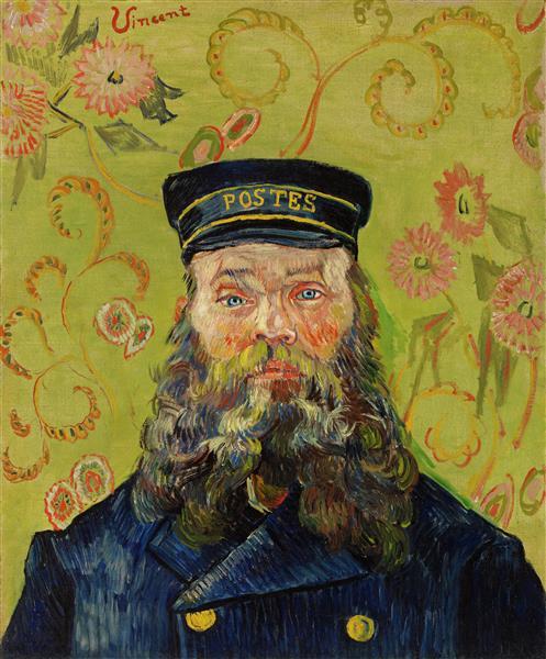 Joseph-Etienne Roulin, 1889 - Вінсент Ван Гог