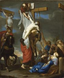 The Descent from the Cross - Charles Le Brun
