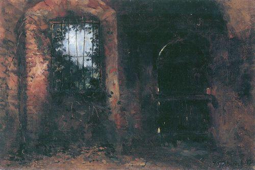 Cellar Window in Heidelberger Schloß - Wilhelm Trubner