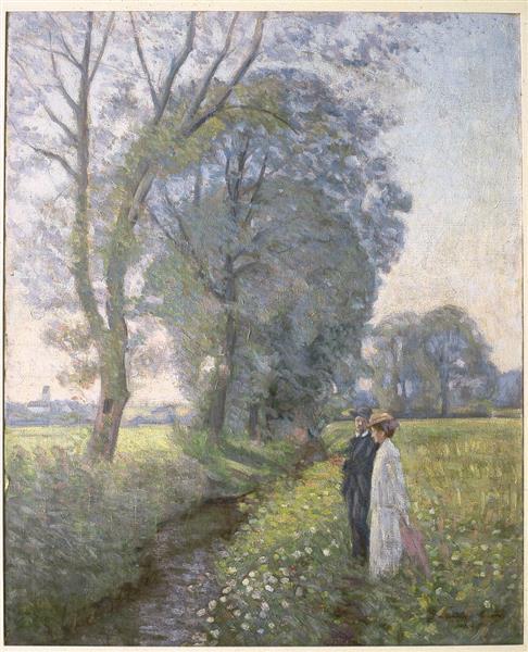 Engaged, 1906 - Danielson-Gambogi, Elin