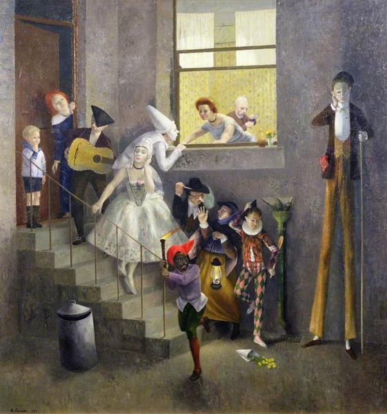 The Mummers, 1952 - Richard Eurich