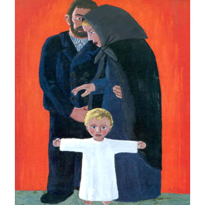 Altar of the Holy Family, 1933 - Werner Berg