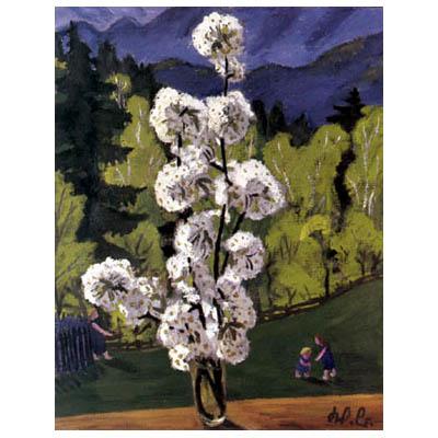 Cherry Blossoms, 1934 - Werner Berg