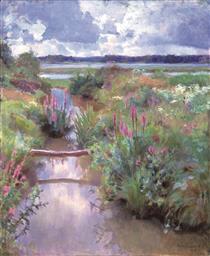 Blommande Sommar - Järnefelt, Eero