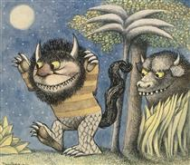 Where The Wild Things Are: Moishe and Bernard - Maurice Sendak