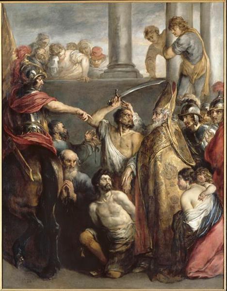 St Nicolas Rescuing Captives, 1660 - Jan Cossiers