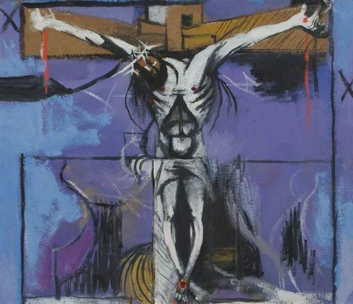 Sketch for 'The Crucifixion', 1946 - Graham Sutherland