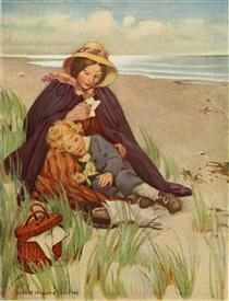 At the Back of the North Wind - Jessie Willcox Smith