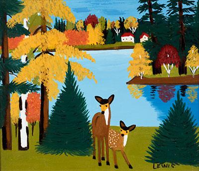 Deer - Maud Lewis