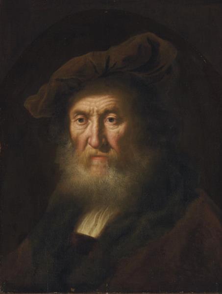 Head of an Old Man, c.1632 - Salomon Koninck