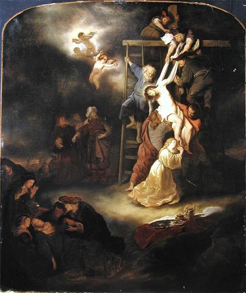 The Descent from the Cross, 1653 - Salomon Koninck